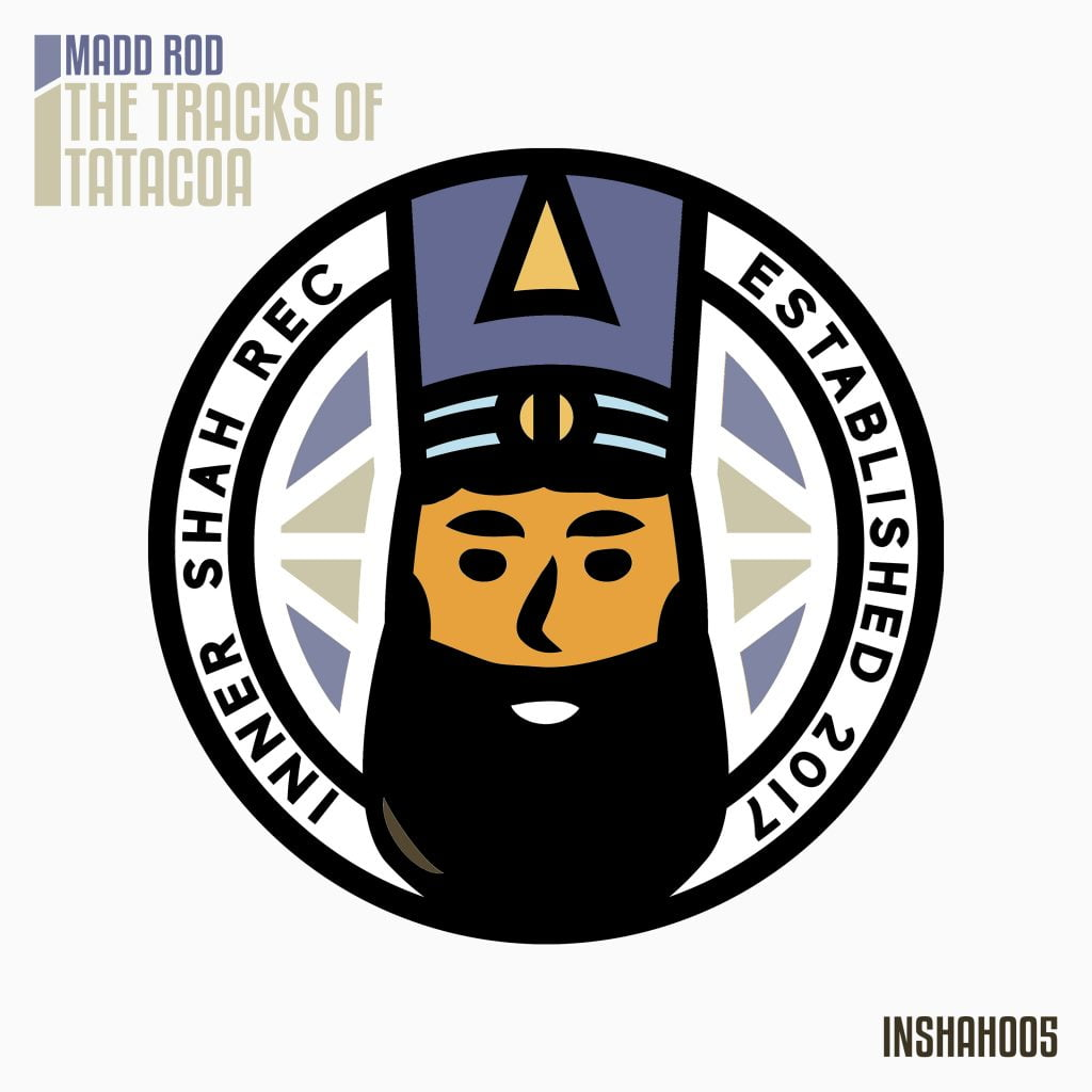 Madd Rod - The Tracks of Tatacoa - Inner Shah Recordings - Artwork
