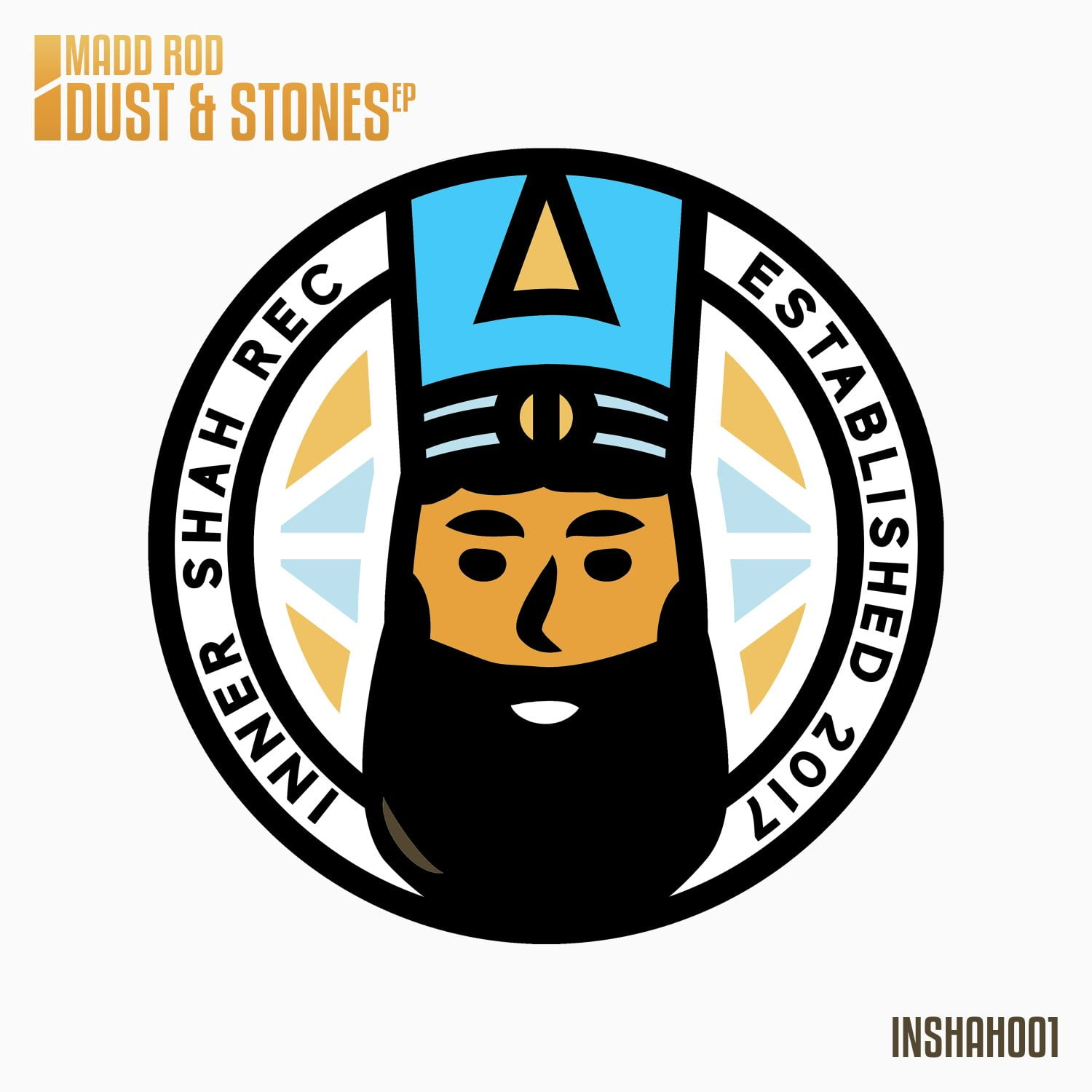 Official Artwork for Madd Rod's Dust & Stones EP